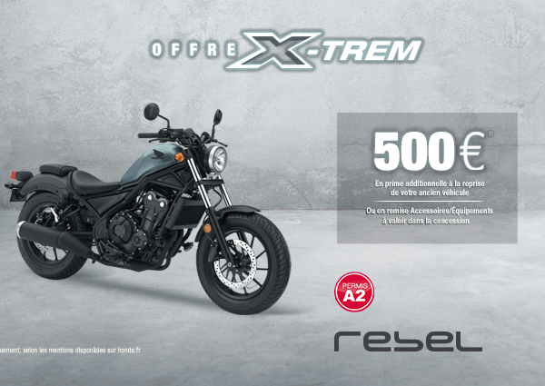 Offres X-Trem CB1000R et Africa Twin Adventure Sports