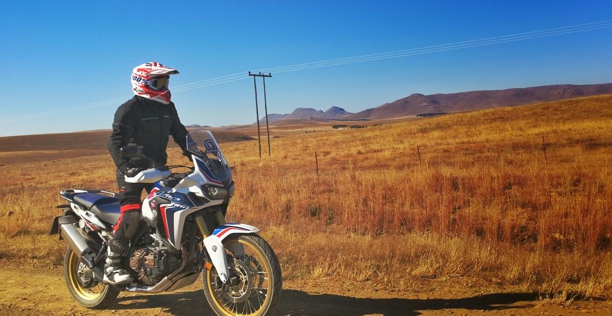 L'africa Twin en mode Off-road